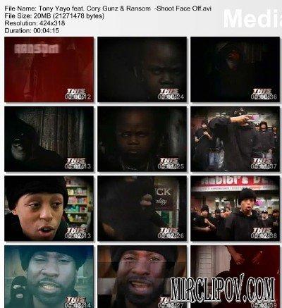 Tony Yayo - Shoot Face Off (feat. Cory Gunz & Ransom)