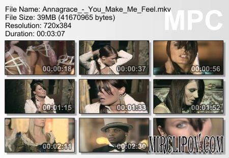 Annagrace - You Make Me Feel