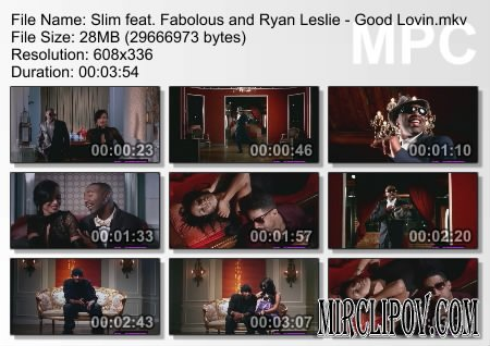 Slim feat. Fabolous & Ryan Leslie - Good Lovin