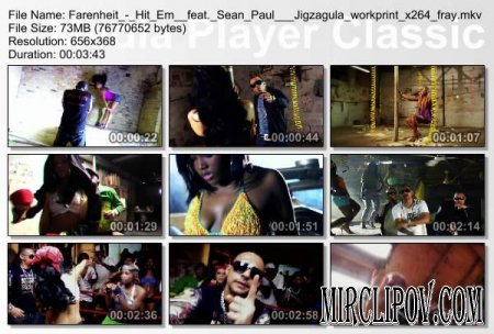 Farenheit Feat. Sean Paul & Jigzagula - Hit