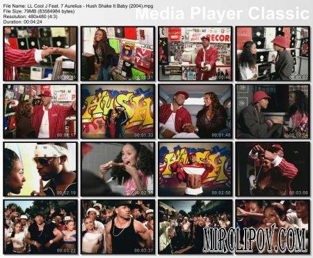 LL Cool J Feat. 7 Aurelius - Hush / Shake It Baby