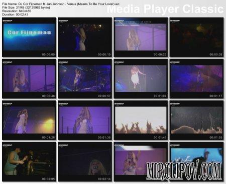 DJ Cor Fijneman ft. Jan Johnson - Venus (Meant To Be Your Lover)