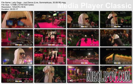 Lady Gaga - Just Dance (Live, 30.08.08)