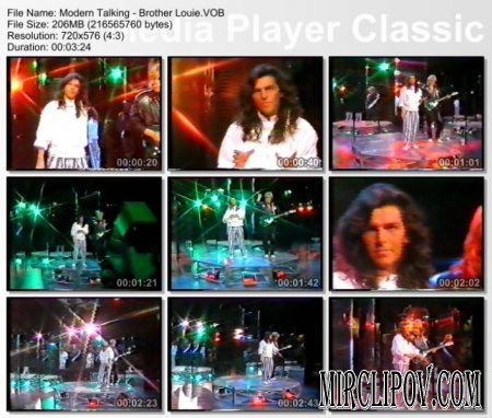 Modern Talking - Brother Louie (live)