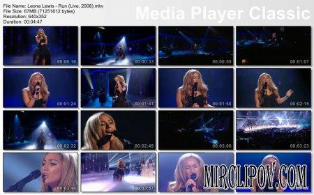 Leona Lewis - Run (Live, 2008)