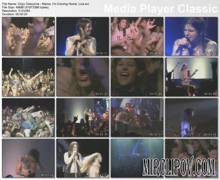 Ozzy Osbourne - Mama, I'm Coming Home (Live)