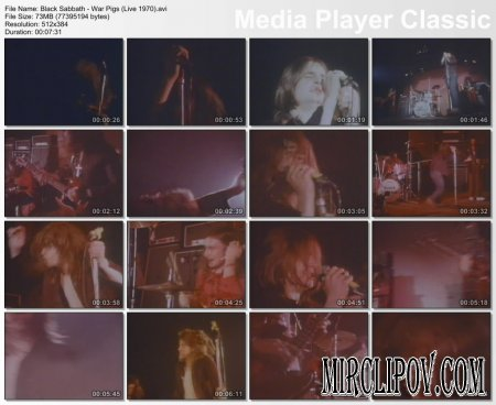 Black Sabbath - War Pigs (Live 1970)