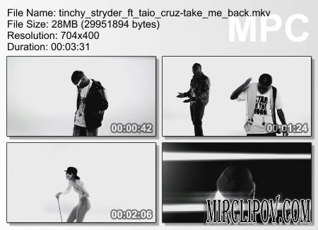 Tinchy Stryder Feat. Taio Cruz - Take Me Back