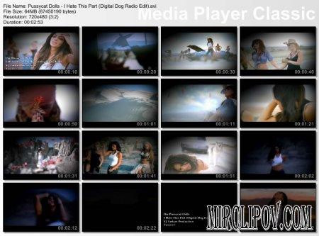 Pussycat Dolls - I Hate This Part (Digital Dog Radio Edit)
