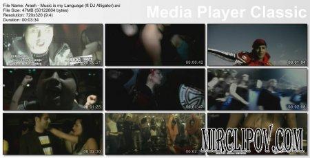 Arash - Music is my Language (ft DJ Alligator)