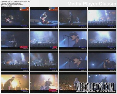 Blink 182 - Carousel (Live MTV 2)