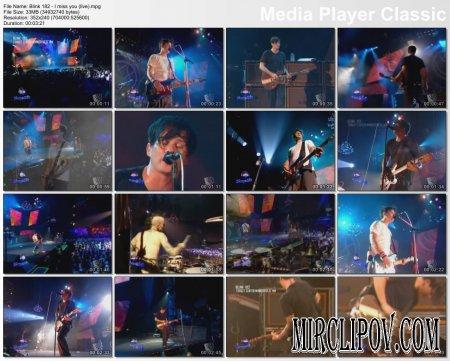 Blink 182 - I miss you (live)