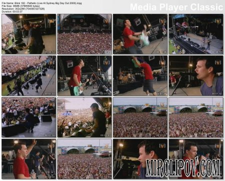 Blink 182 - Pathetic (Live At Sydney Big Day Out 2000)