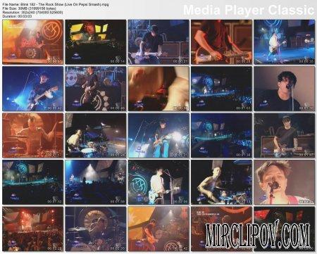 Blink 182 - The Rock Show (Live On Pepsi Smash)