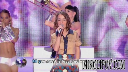 Alizee - Love Is All (HDTV 720p)