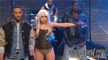 Lady GaGa - Just Dance (Live, Tonight Show With Jay Leno, 08.01.09)