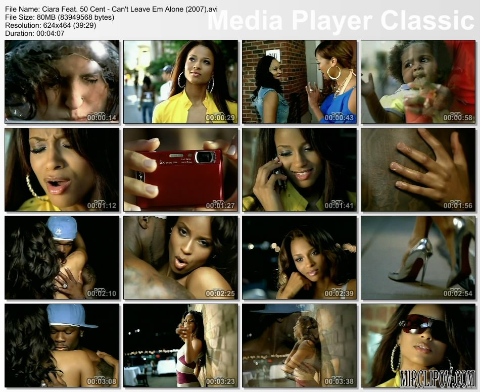 Ciara Feat. 50 Cent - Can't Leave Em Alone