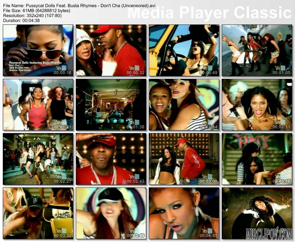 Pussycat Dolls Feat. Busta Rhymes - Don`t Cha