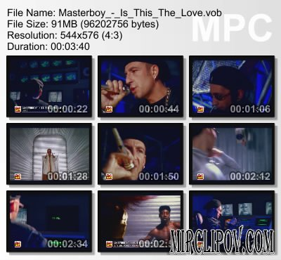 Masterboy - Is This The Love