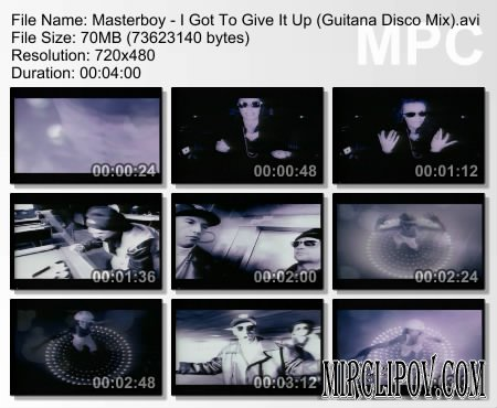 Masterboy - I Got To Give It Up (Guitana Disco Mix)
