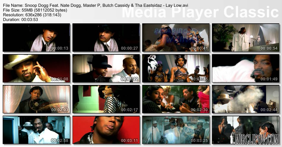 Snoop Dogg Feat. Nate Dogg, Master P, Butch Cassidy & Tha Eastsidaz - Lay Low