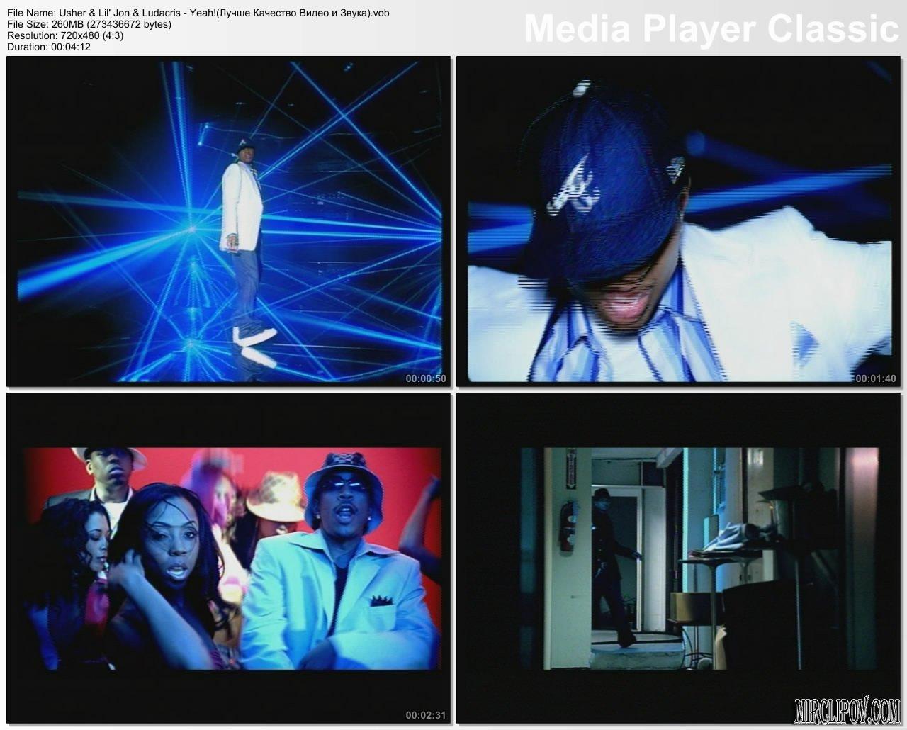 Usher yeah скачать клип.