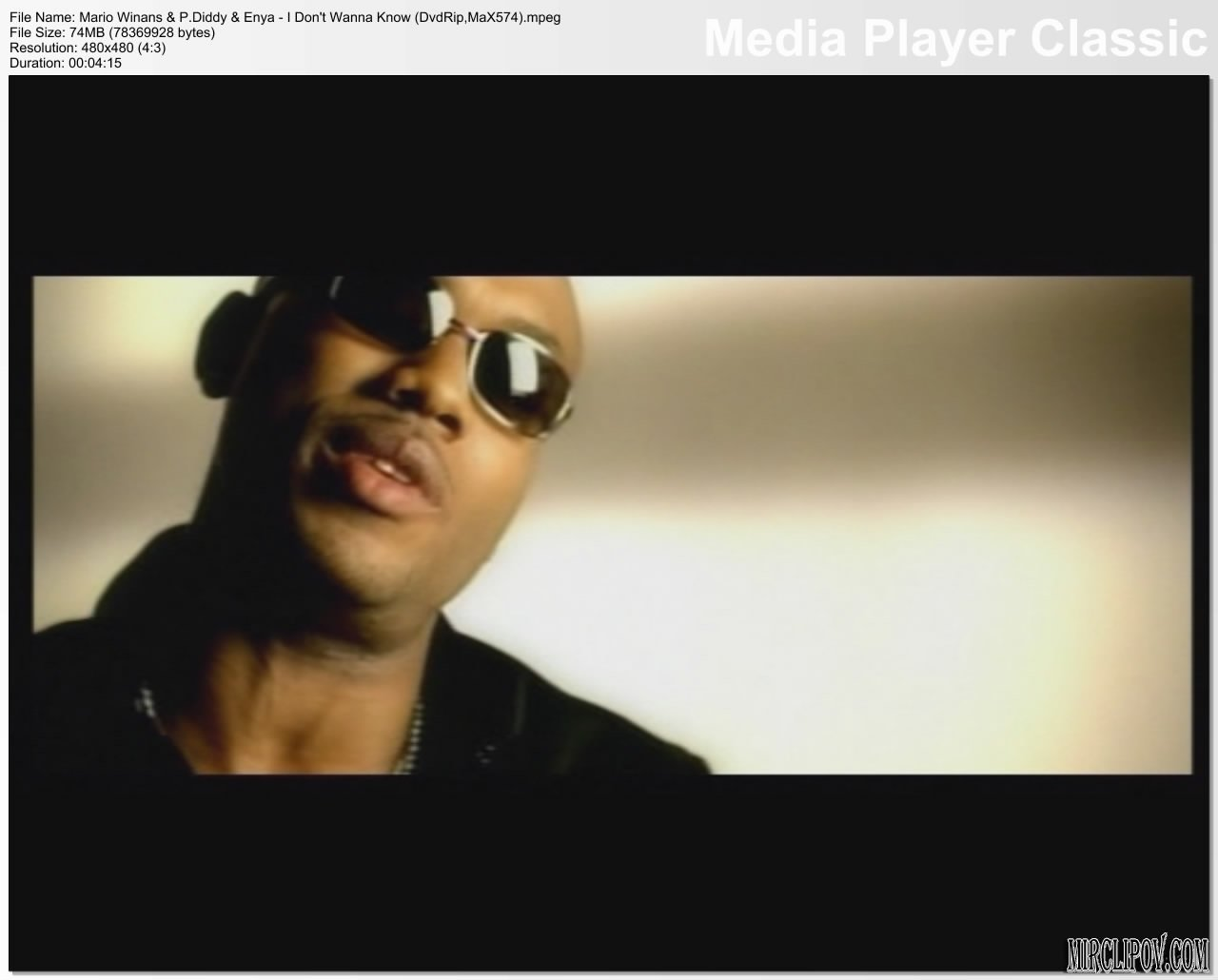 Mario Winans Feat. P. Diddy & Enya - I Don't Wanna Know