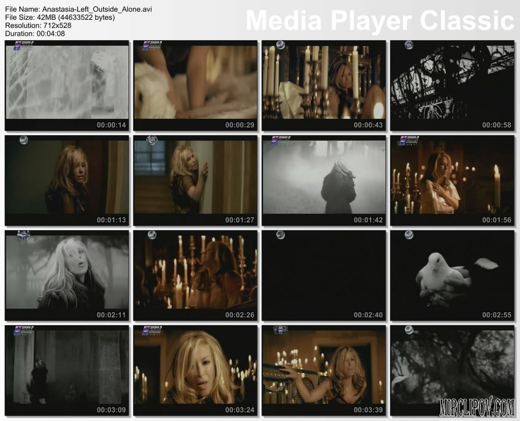 Anastacia - Left Outside Alone