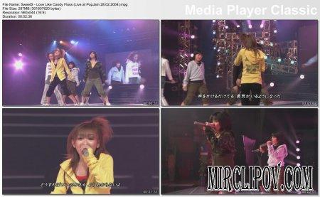 SweetS - Love Like Candy Floss (Live, PopJam 28.02.04)