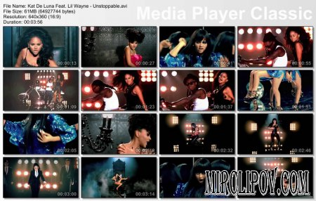 Kat DeLuna Feat. Lil Wayne - Unstoppable