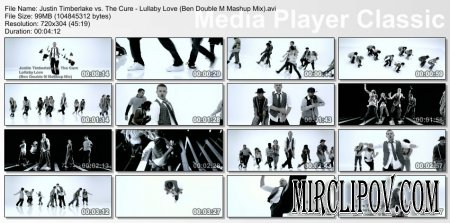Justin Timberlake vs. The Cure - Lullaby Love (Ben Double M Mashup Mix)