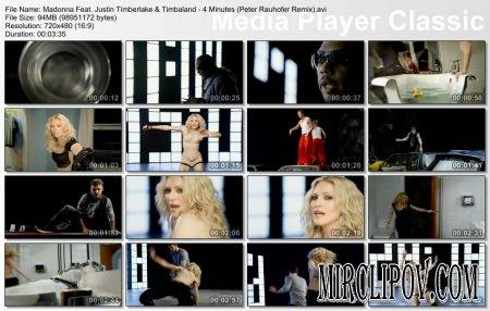 Madonna Feat. Justin Timberlake & Timbaland - 4 Minutes (Peter Rauhofer Remix)