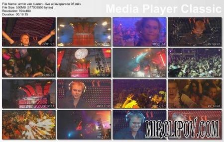 Armin Van Buuren - Live Perfomance (Loveparade, 2008)