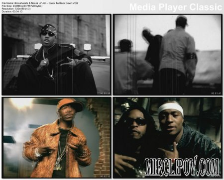 Bravehearts Feat. Nas & Lil' Jon - Quick To Back Down