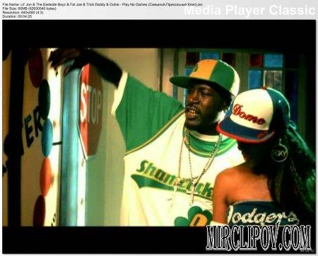 Lil' Jon Feat. The Eastside Boyz, Fat Joe, Trick Daddy & Oobie - Play No Games