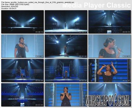 Jennifer Hudson - You Pulled Me Through (Live, Grammy Awards, 2009)