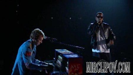 Coldplay Feat. Jay-Z- Lost / Viva La Vida (Live, Grammy Awards, 2009)