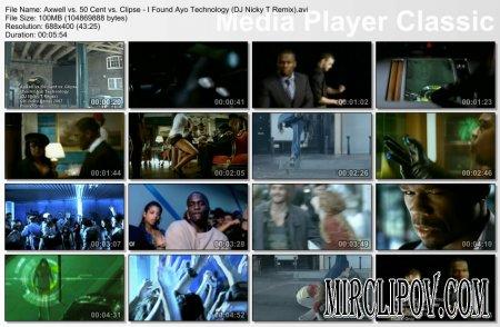 Axwell vs. 50 Cent vs. Clipse - I Found Ayo Technology (DJ Nicky T Remix)