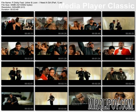 P. Diddy Feat. Usher & Loon - I Need A Girl (Part. 1)