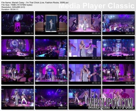Mariah Carey - I'm That Chick (Live, Fashion Rocks, 2008)