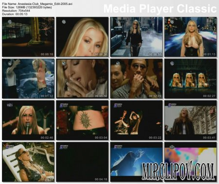 Anastacia - Club Megamix Edit
