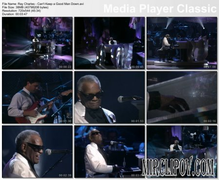 Ray Charles - Can't Keep a Good Man Down