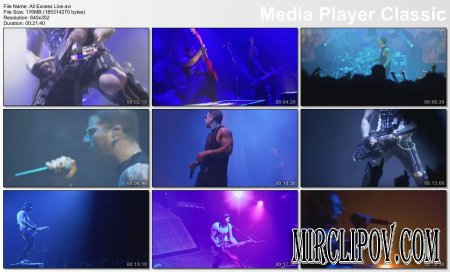 Avenged Sevenfold - All Excess (Live)