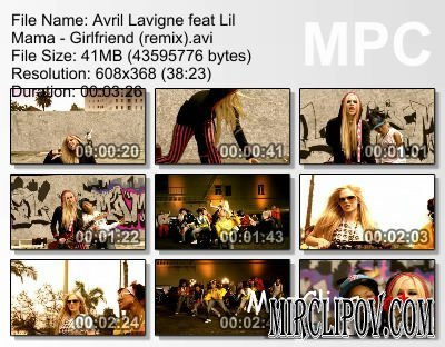 Avril Lavigne Feat. Lil Mama - Girlfriend (Remix)