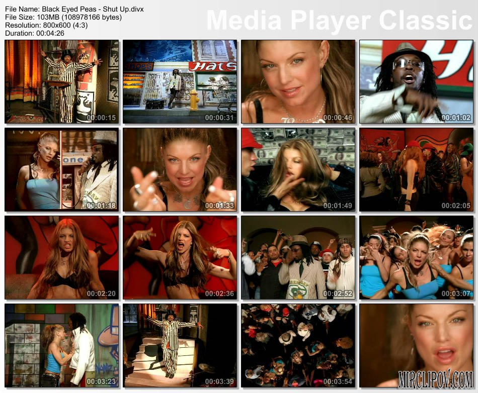 Black Eye Peas Shut Up 110