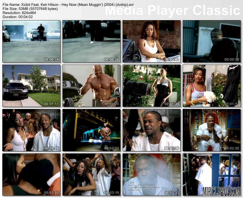 Xzibit Feat. Keri Hilson - Hey Now (Mean Muggin')