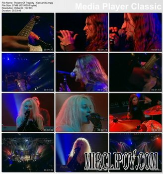 Theatre Of Tragedy - Live Perfomance