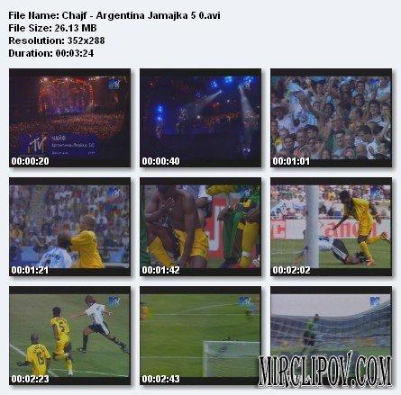 Чайф - Аргентина-Ямайка 5 : 0