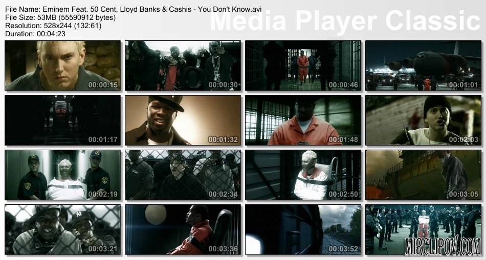 Eminem Feat. 50 Cent, Lloyd Banks & Cashis - You Don't Know