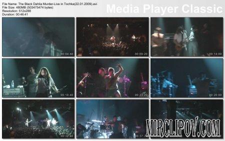 Black Dahlia Murder - Live Perfomance (Tochka, 22.01.09)